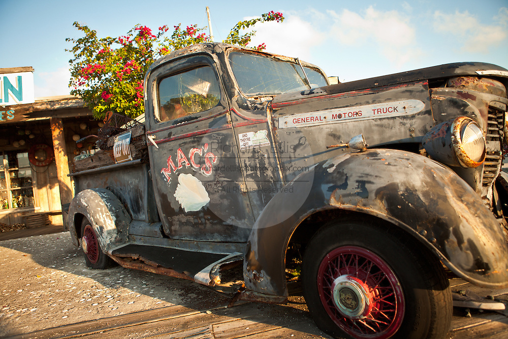 Mac's old truck in Key West, Florida.