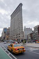 Flatiron building in New York City October 2008