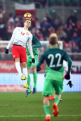 14.11.2016, Stadion Miejski, Wroclaw, POL, Testspiel, Polen vs Slowenien, im Bild Lukasz Teodorczyk (POL) // during the international friendly football match between Poland vs Slovenia at the Stadion Miejski in Wroclaw, Poland on 2016/11/14. EXPA Pictures © 2016, PhotoCredit: EXPA/ Newspix/ Michal Nowak<br /> <br /> *****ATTENTION - for AUT, SLO, CRO, SRB, BIH, MAZ, TUR, SUI, SWE, ITA only*****