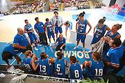 BORMIO 12 AGOSTO 2007<br /> BASKET NAZIONALE ITALIANA FEMMINILE<br /> ITALIA-BULGARIA<br /> NELLA FOTO TIME OUT<br /> FOTO CIAMILLO-CASTORIA