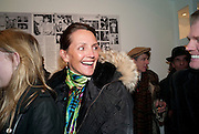 SAFFRON ALDRIDGE, The Way We Wore.- Photographs of parties in the 70's by Nick Ashley. Sladmore Contemporary. Bruton Place. London. 13 January 2010.<br /> SAFFRON ALDRIDGE, The Way We Wore.- Photographs of parties in the 70's by Nick Ashley. Sladmore Contemporary. Bruton Place. London. 13 January 2010. *** Local Caption *** -DO NOT ARCHIVE-© Copyright Photograph by Dafydd Jones. 248 Clapham Rd. London SW9 0PZ. Tel 0207 820 0771. www.dafjones.com.
