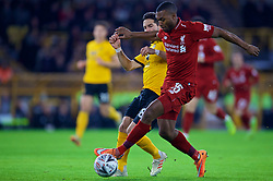 WOLVERHAMPTON, ENGLAND - Monday, January 7, 2019: Liverpool's Daniel Sturridge during the FA Cup 3rd Round match between Wolverhampton Wanderers FC and Liverpool FC at Molineux Stadium. (Pic by David Rawcliffe/Propaganda)