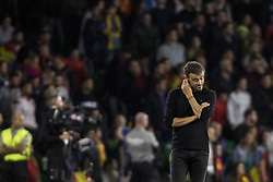 October 15, 2018 - Seville, Spain - LUIS ENRIQUE, head coach of Spain, in action during the UEFA Nations League Group A4 soccer match between Spain and England at the Benito Villamarin Stadium (Credit Image: © Daniel Gonzalez Acuna/ZUMA Wire)