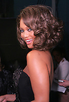 28 April 2006: Former model Tyra Banks gets ready to go on stage near the exclusive behind the scenes photos of celebrity television stars in the STAR greenroom at the 33rd Annual Daytime Emmy Awards at the Kodak Theatre at Hollywood and Highland, CA. Contact photographer for usage availability.