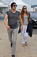 Adrien Brody & Girlfriend Lara Lieto In Cannes