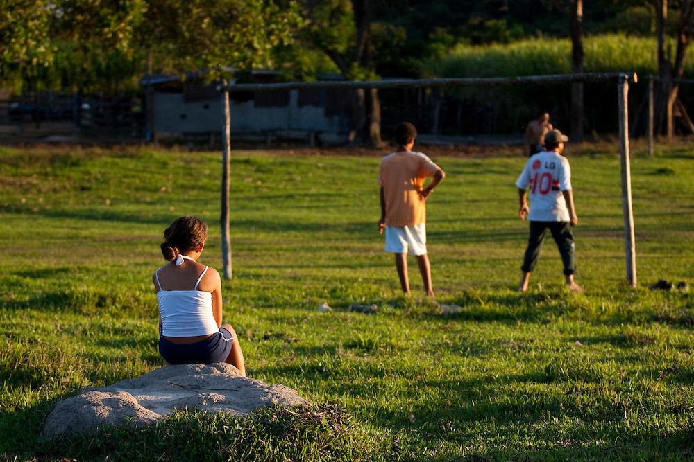 Esmeraldas_MG, Brasil...Campo de futebol na comunidade rural da Lajinha, Minas Gerais...The soccer field in the Lajinha rural community, Minas Gerais...Foto: JOAO MARCOS ROSA / NITRO