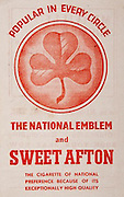 All Ireland Senior Hurling Championship Final,.Brochures,.03.09.1944, 09.03.1944, 3rd September 1944, .Cork 2-13, Dublin 1-2, .Senior Cork v Dublin, .Croke Park, ..Advertisements, The National Emblem and Sweet Afton Cigarettes,