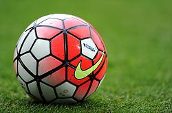 The official premier league ball 15\16 - Mandatory byline: Alex James/JMP - 07966 386802 - 03/10/2015 - FOOTBALL - Villa Park - Birmingham, England - Aston Villa v Stoke City - Barclays Premier League