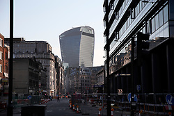 UK ENGLAND LONDON 21APR15 - View of the Walkie-Talkie building from Aldgate.<br /> <br />  <br /> <br /> jre/Photo by Jiri Rezac<br /> <br /> © Jiri Rezac 2015