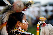 Dressed for the Pow Wow at the Cheyenne River Reservation.