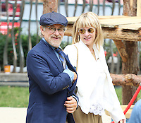 Steven Spielberg, Kate Capshaw, The BFG - UK film premiere, Leicester Square Gardens, London UK, 17 July 2016, Photo by Richard Goldschmidt