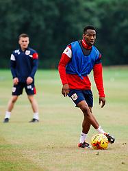 Opanin Edwards in action as Bristol City Under 23s return for a second day of training ahead of their 2017/18 Season - Rogan/JMP - 01/07/2017 - Failand Training Ground - Bristol, England.