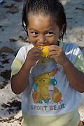 Ao Bang Kao. Kid with bear t-shirt.