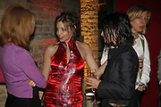 CAROLE SILLER, Champagne reception celebrating 100 years of Chinese cinema  hosted by Hamish McAlpine of Tartan Films, Raising money for Care For Children, a foster care programme in China. Aspreys. New Bond St. London. 25 April 2006. ONE TIME USE ONLY - DO NOT ARCHIVE  © Copyright Photograph by Dafydd Jones 66 Stockwell Park Rd. London SW9 0DA Tel 020 7733 0108 www.dafjones.com