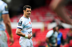 Dan Carter of Racing 92 - Mandatory byline: Patrick Khachfe/JMP - 07966 386802 - 24/04/2016 - RUGBY UNION - The City Ground - Nottingham, England - Leicester Tigers v Racing 92 - European Rugby Champions Cup Semi Final.