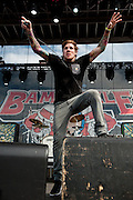 Photos of The Devil Wears Prada performing at The Bamboozle in East Rutherford, New Jersey on May 2, 2010.