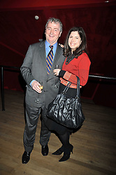 STEPHEN QUINN and KIMBERLEY FORTIER at the Montblanc de la Culture Arts Patronage Award 2009 held at the Tate Modern, Bankside, London SE1 on 16th April 2009.