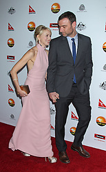 Naomi Watts and Liev Schreiber arriving for The 2013 G'Day USA Los Angeles Black Tie Gala at the JW Marriott at L.A. LIVE in Los Angeles, CA, USA on January 12, 2013. Photo by Baxter/ABACAPRESS.COM  | 348092_038