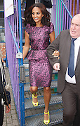 17.OCTOBER.2012. LONDON<br /> <br /> ALESHA DIXON LEAVING THE HACKNEY CENTRE AFTER ATTENDING THE PRINCE'S TRUST AGAINST ALL ODDS YOUTH FORUM.<br /> <br /> BYLINE: EDBIMAGEARCHIVE.CO.UK<br /> <br /> *THIS IMAGE IS STRICTLY FOR UK NEWSPAPERS AND MAGAZINES ONLY*<br /> *FOR WORLD WIDE SALES AND WEB USE PLEASE CONTACT EDBIMAGEARCHIVE - 0208 954 5968*