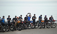 Capital Trail 2017<br /> <br /> The Capital Trail This morning 55 riders set off from Portobello Beach in Edinburgh to ride along the Capital Trail, a 250km bikepacking route from Edinburgh through Midlothian and the Scottish Borders. The annual group ride is a prologue to the Edinburgh Festival of Cycling, which runs from 8 to 18 June in various locations in the city. The route has been developed in 2015 by round the world singlespeed cyclist Markus Stitz. More information can be found at bikepackingscotland.com.<br /> <br /> <br />  Neil Hanna Photography<br /> www.neilhannaphotography.co.uk<br /> 07702 246823