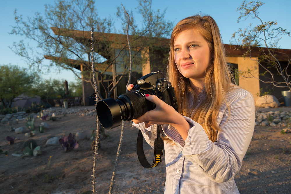 Tucson AZ Photographer In Desert