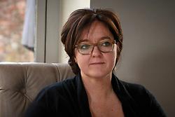"""Rondetafel gesprek met """"De Madammen""""<br /> Lies Vlamynck<br /> Restaurant Het Pannenhuis - Massenhoven 2013<br /> © Dirk Caremans"""