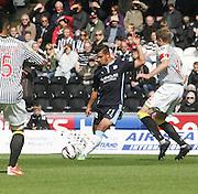 Luka Tankulic - St Mirren v Dundee, SPFL Premiership at St Mirren Park<br /> <br />  - &copy; David Young - www.davidyoungphoto.co.uk - email: davidyoungphoto@gmail.com