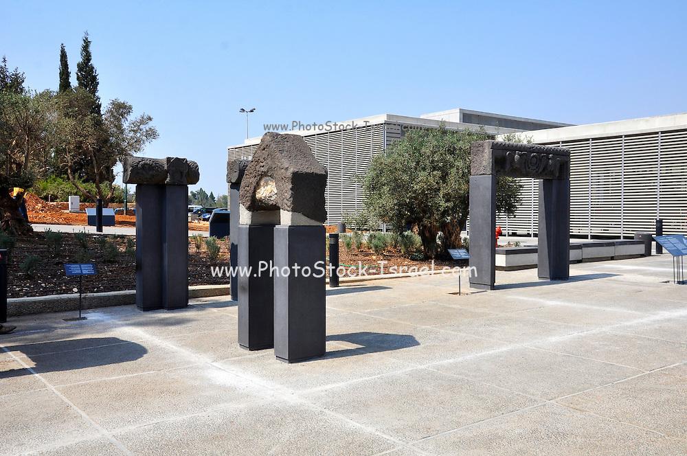 Israel, Jerusalem, The Israel Museum Archaeology Garden