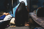 LA YAGUARA CENTER OF DETENTION. - March 2018<br /> <br /> Beauty has always been important in Venezuelan culture. Inside the centers of preventive detention, women take care of their looks even if they do not have mirrors or visitors.