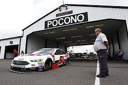 June 1, 2018 - Long Pond, Pennsylvania, United States of America - Cole Custer (51) takes to the track to practice for the Pocono 400 at Pocono Raceway in Long Pond, Pennsylvania. (Credit Image: © Justin R. Noe Asp Inc/ASP via ZUMA Wire)