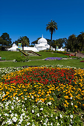 California: San Francisco. Conservatory of Flowers in Golden Gate Park.  Photo copyright Lee Foster. Photo #: 23-casanf83922