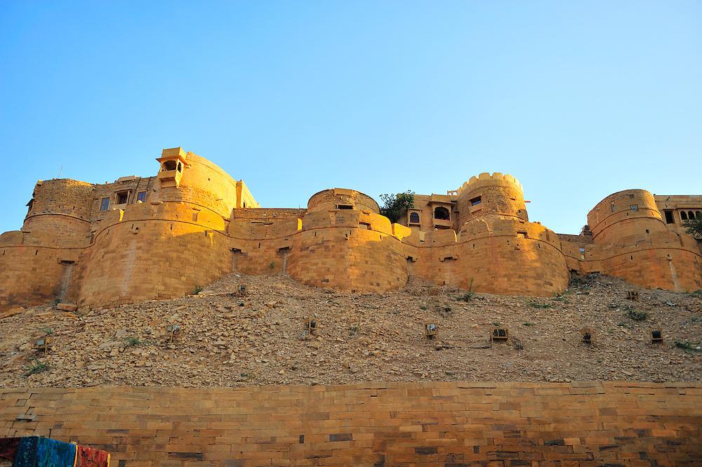 Jaisalmer fort in Rjasthan, in the Golden City