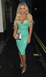 Bianca Gascoigne at the STK restaurant in London, UK. 23/06/2016<br />BYLINE MUST READ : GOTCHAIMAGES.COM<br /><br />Copyright by © Gotcha Images Ltd. All rights reserved.<br />Usage of this image is conditional upon the acceptance <br />of Gotcha Images Ltd, terms and conditions available at<br />www.gotchaimages.com