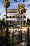 A historic home in Charleston, South Carolina.