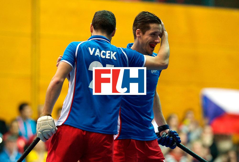 LEIZPIG - WC HOCKEY INDOOR 2015<br /> IRI v CZE (Pool A)<br /> Foto: David Vacek<br /> FFU PRESS AGENCY COPYRIGHT FRANK UIJLENBROEK