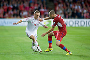 2014 qualifying match Denmark 0 vs. Czech Republic 0