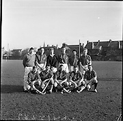 20/01/1962.01/20/1962.20 January 1962.Leinster v Munster Interprovincial Mens Hockey, played at Londonbridge Road, Dublin. The Leinster team.