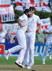 Wellington-Cricket, New Zealand v England, 2nd test, day 3, March 16