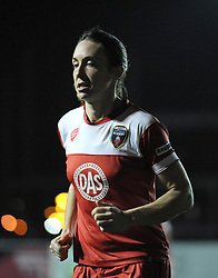 Bristol Academy Womens' Corinne Yorston - Photo mandatory by-line: Dougie Allward/JMP - Mobile: 07966 386802 - 13/11/2014 - SPORT - Football - Bristol - Ashton Gate - Bristol Academy Womens FC v FC Barcelona - Women's Champions League