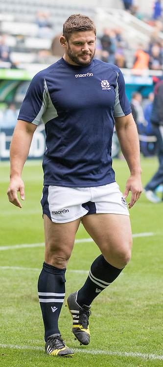 Scotland's Ross Ford during warn up.Scotland v Samoa, 10th October 2015