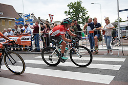 Leah Thomas (USA) at Boels Ladies Tour 2019 - Stage 1, a 123 km road race from Stramproy to Weert, Netherlands on September 4, 2019. Photo by Sean Robinson/velofocus.com