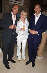 Left to right, actor JAMES NESBITT, singer LULU and DYLAN JONES at a party to celebrate the publication of iPod, Therefore I am by Dylan Jones held at Asprey, 169 New Bond Street, London W1 on 14th July 2005.<br /><br />NON EXCLUSIVE - WORLD RIGHTS
