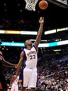 Mar. 23, 2011; Phoenix, AZ, USA; Phoenix Suns guard Zabian Dowdell (22) puts up a basket against the Toronto Raptors at the US Airways Center. The Suns defeated the Raptors 114-106. Mandatory Credit: Jennifer Stewart-US PRESSWIRE.