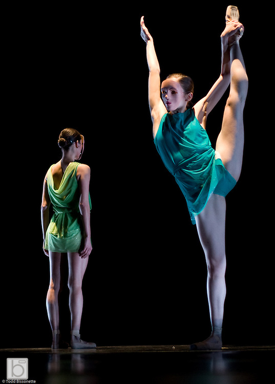 "Dancers of Rebecca Kelly Ballet perform the World Premier of ""Writing on Water"", choreographed by Rebecca Kelly, during the Rebecca Kelly Ballet Spring Season 2008 at the Gerald W. Lynch Theater, John Jay College, New York City.(Photo/Todd Bissonette - www.rtbphoto.com)"