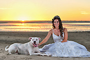 Erin Bridal Portrait | Emerald Isle Photographers