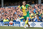 Robbie Brady (Norwich City) during the Barclays Premier League match between Everton and Norwich City at Goodison Park, Liverpool, England on 15 May 2016. Photo by Mark P Doherty.