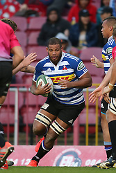 Nizaam Carr of Western Province on the attack during the Currie Cup Premier Division match between the DHL Western Province and the Pumas held at the DHL Newlands rugby stadium in Cape Town, South Africa on the 17th September  2016<br /> <br /> Photo by: Shaun Roy / RealTime Images