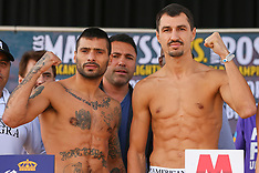 October 2, 2015: Lucas Matthysse vs Viktor Postol Weigh-In