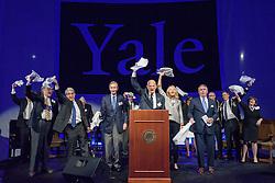 Bright College Years. Yale Athletics Blue Leadership Ball & George H.W. Bush '48 Lifetime of Leadership Awards. 20 November 2015 at the William K. Lanman Center, Payne Whitney Gymnasium, Yale University.