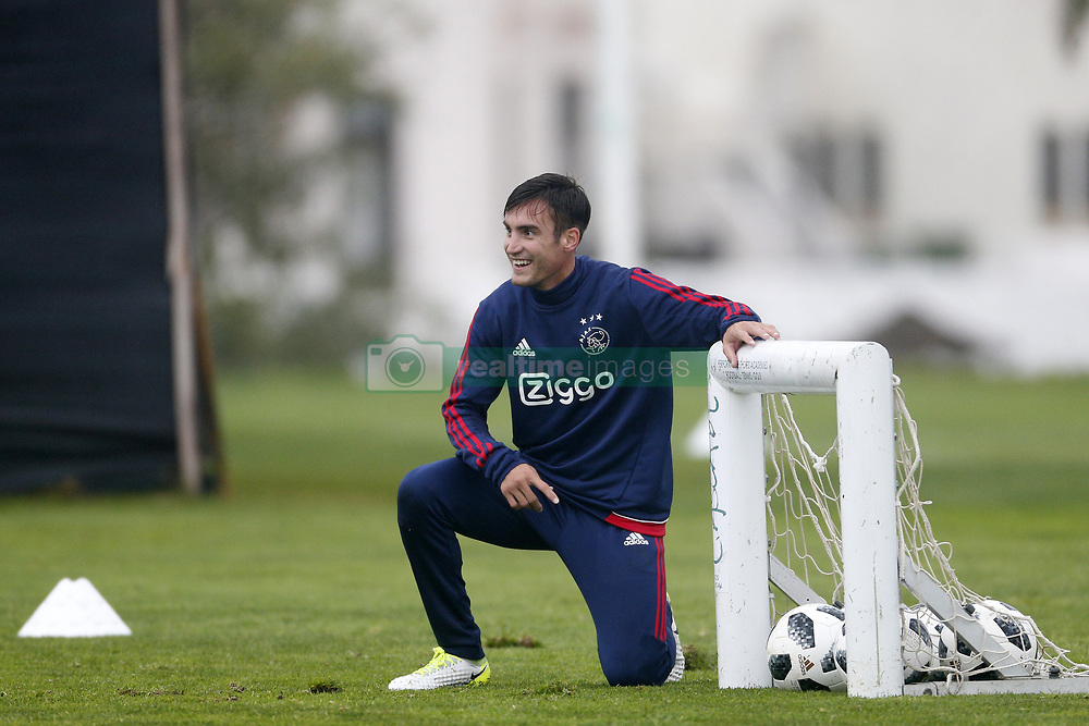Nicolas Tagliafico of Ajax during a training session of Ajax Amsterdam at the Cascada Resort on January 09, 2018 in Lagos, Portugal